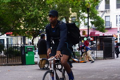 Eyes contact (Xu@EVIL Cameras) Tags: enna ennalyt 50mm f19 socket ver1 exakta portrait bicycle rider