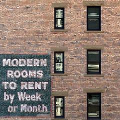 modernrooms (nolando) Tags: nolando 2016 simple alberta urban city wall brick sign calgary modern rooms