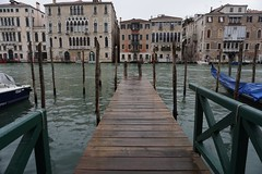 Pier to the End (H.Fenske) Tags: venice italy travel explore adventure europe rain canal outdoor city gondola architecture water waterfront