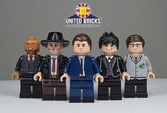 Gotham Inspired range - United Bricks (TheCampervanTom) Tags: lego custom gotham
