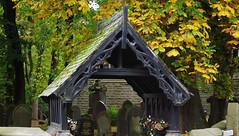 The Parish Church of St Thomas Musbury, Helmshore, Haslingden, Rossendale, Lancashire (mrrobertwade (wadey)) Tags: wadeyphotos helmshore rossendale lancashire milltown mrrobertwade robertwade lychgate lycugate lykegatelychgate