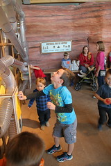 Olsen in the Water Works with the balls (Aggiewelshes) Tags: october 2016 lehi utah travel museumofnaturalcuriosity thanksgivingpoint waterworks olsen