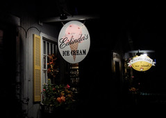 After Hours (Steve Bosselman) Tags: signs icecream storefronts night nocturnal