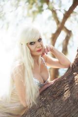 Voula, Athens (DZ-fotografia - 21 Million views, Thx) Tags: lady woman long blonde hair sexy greece athens voula saroniko mediterranean beach sea sun