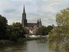Ulmer Mnster (MsAndi63) Tags: church kirche ulm mnster donau kirchturm hchster