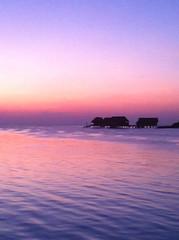 Pink sunrise (5ERG10) Tags: ocean pink sunset sea sky sun holiday water sergio silhouette clouds island one evening seaside nikon holidays asia dusk indian horizon indianocean peaceful resort only april rah maldives reethi d800 atoll maldive 2014 马尔代夫 northcentralprovince amiti 5erg10