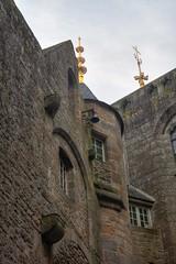 Les toits de l'abbaye du Mont Saint-Michel (Flacape29) Tags: mont hdr saintmichel abbaye toits