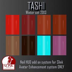 Tashi Winter Set 2013 (Tashi Owner) Tags: nail polish sl nails secondlife tashi