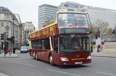AN346 LJ12MYH (PD3.) Tags: uk england bus london buses square big tour open top sightseeing trafalgar an seeing topless sight topper psv pcv tourbus 346 bigbus myh lj12 an346 lj12myh