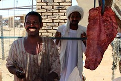 The Meroe butcher (10b travelling) Tags: africa man sahara town ruins market sudan working kingdom meat unescoworldheritagesite unesco worldheritagesite nile butcher khartoum kush meroe 2013 mero peopleset kushite carstentenbrink iptcbasic