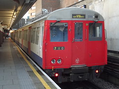 London Underground A60/A62 Stock 5110/5111 (Rail Adhesion Train/RAT) Train M710 Harrow-on-the-Hill 29/11/14 (TheStanstedTrainspotter) Tags: london public train underground subway metro transport rail railway trains ubahn londonunderground publictransport metropolitanline watford 710 a60 uxbridge chesham