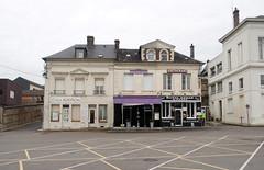Lillebonne (julien `) Tags: france europe place empty violet olympus normandie normandy lillebonne stylus1 stylusone