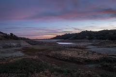 First rays of light at Stevens Creek Reservoir, Cupertino, California. (abochevarov) Tags: california sky northerncalifornia clouds sunrise landscape nikon view cupertino stevenscreekreservoir stevenscreekcountypark firstrays