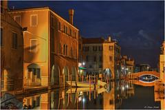 Chioggia - 14051408 (Klaus Kehrls) Tags: italien canal italia italie chioggia veneto nachtaufnahmen vénétie venezien flickrbronzetrophygroup