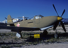 43-11727 P-63E Kingcobra (Irish251) Tags: arizona usa museum airplane us fighter bell tucson space aircraft military air az historic pima preserved kingcobra p63 p63e n9003r 4311727