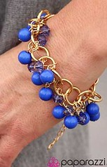 Glimpse of Malibu Blue Bracelet K2 P9511-2