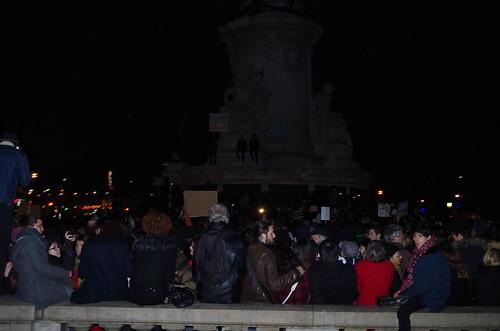 Nous sommes tous Charlie - Rassemblement place de la République