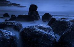 The Black Rock (paulosilva3) Tags: world ocean blue mist seascape skyscape rocks lee filters mistyc