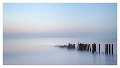 Waterfront (picturedevon.co.uk) Tags: longexposure seascape southwest colour beach sunrise canon dawn seaside widescreen horizon fineart peaceful devon le groyne minimalist coastaldefence nisi10stop dawlishwarrenteignbridge