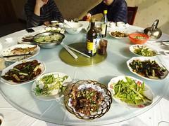 Whole Mutton Lunch @Jianxin Mutton Restaurant, Changzhou, China (Phreddie) Tags: china city trip food fun lunch restaurant yum sheep drink chinese meat eat lamb mutton changzhou offal baijiu