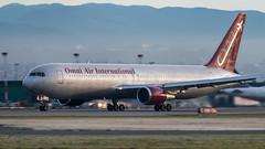 N387AX - Omni Air International - Boeing 767-319/ER (bcavpics) Tags: canada vancouver plane airplane britishcolumbia aircraft aviation boeing yvr airliner 767 763 omniairinternational bcpics n387ax