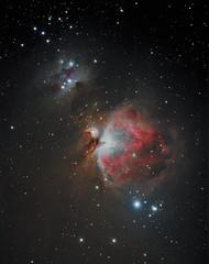 M42 and frends 2x600 sek. second (nive1964) Tags: astrometrydotnet:status=solved astrometrydotnet:id=nova1018850
