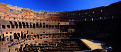 Panorama, Rome, Colosseum (a long pause ....) Tags: travel italy panorama rome canon cityscapes colosseum historical 2014