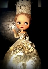 Blythe-a-Day Feb#5: Museums: Catherine the Great (The Hermitage)