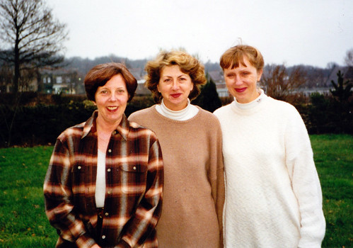 1998 Tom the Pipers Son 06 Costumes from left Katie Gilks poss, Pam Rowley, Joy Buckley