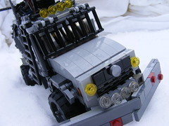 BrickArms Tremendous Technical Contest entry- V-plow Unimog (dino27272727) Tags: lego zombie ba afol brickarms tremendoustechnicalcontest