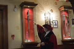 The Black Prince's sword (Matt From London) Tags: sword cutlershall beadle blackprince worshipfulcompanyofcutlers liveryhall
