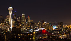 Downtown Seattle (Night)