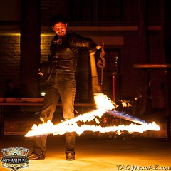 20150305-_MG_9338 (Daniel Sennett) Tags: wild arizona west de fire photography loop daniel az tricks lightning van graff coil thursday tao con tesla lasso sennett rawlins wwwc wwwc4