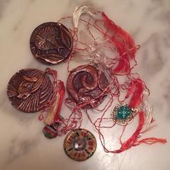 March 1st Colours - Martzishor (Pushapoze (MASA)) Tags: red white silk string martenitza martzishor romaniancustom