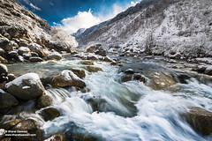 Supin river, Har ki Dun, Uttarakhand (Bharat Baswani) Tags: winter snow mountains water trek river wonderland himalayas glacial harkidoon uttarakhand harkidun supin