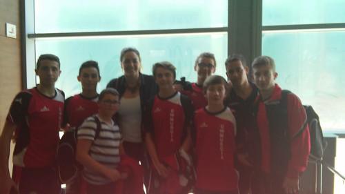 Con Maica Garcia Godoy.