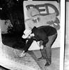 PQ Steez (christait) Tags: blackandwhite bw canada calgary writing graffiti paint pierre graf grain hasselblad alberta spraypaint yyc ilforddelta3200 500cm boxman yycstreet boxmanpress rodinal1100stand2hrs