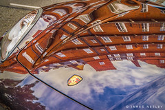 South Kensington Reflections (James Neeley) Tags: reflection london porsche kensington jamesneeley