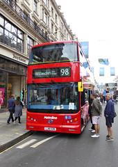 ML BYD1472 - LJ16EZN - NSF - REGENT STREET - SUN 3RD JULY 2016 (Bexleybus) Tags: street bus buses festival by design july 98 led route your dreams regent tfl 2016 metroline byd duild elrctric comfortdelgro k8sr lj16ezn byd1472