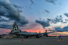 Fifi At Dusk (WK Pix) Tags: fifi chicagoland karr b29 superfortress