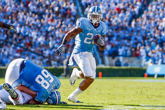 Carolina Football '10 (R24KBerg Photos) Tags: unc uncch uncchapelhill tarheels football ncaa atlanticcoastconference kenanstadium heels sports athletics carolina northcarolina nc chapelhill canon 2010 carolinablue acc shaundraughn