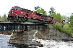 CP 220-20, CP 9135 East (Nomar Tyson-Rales) Tags: cp sd90mac 9135 ovr ottawa valley railway rlk railink chalk river sub petawawa ontario canada train trains