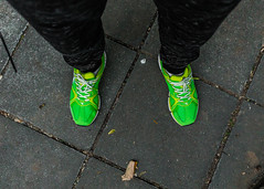 Fluo 4ever (johnny.cvetkovic) Tags: life portrait people abstract man colors outdoors shoes pattern dof running depthoffield
