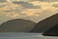 Fjord du Saguenay (Patrice StG) Tags: sunset qubec saguenay couchant tadoussac sooc d700 tamron70300vc