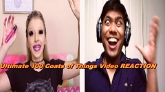 **Ultimate 100 Coats of Things Video || Reaction** (sarker175) Tags: ultimate 100 coats things video || reaction
