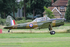 G-HDAE - 1951 build De-Havilland DHC-1 Chipmunk Mk.22, now painted in glossy AAC markings with the false serial WP964 (egcc) Tags: 0280 1304 2016gatheringofmoths aac airborneclassics army armyaircorps c10280 csdae chipmunk dhc1 dehavilland egth ghdae gatheringofmoths gipsymajor lightroom oldwarden shuttleworth wp964