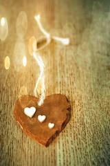 love hearts (Jackal1) Tags: bokeh slate wood hearts creative 50mm canon string artsandcrafts