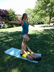 Circus: Beginning Acro-balance (KnowledgeCommonsDC) Tags: washingtondc education acrobalance adulteducation knowledgecommons knowledgecommonsdc