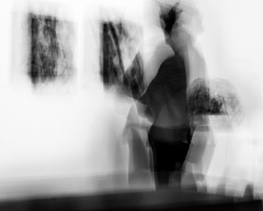 Which one? I can't make up my mind. (Noel Leone--my reality in and out of focus) Tags: artgallery modernart icm intentionalcameramovement monochrome bw decisions tobuyornottobuy wavering morethanonerightanswer howtochoose panasonicgh3 zeiss50mm14