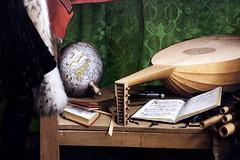 IMG_0151G Hans Holbein le Jeune. 1497-1543.  Jean de Dinteville and Georges de Selve.  The Ambassadors.  Les Ambassadeurs. 1533.    Londres. National Gallery. (jean louis mazieres) Tags: greatbritain london museum painting unitedkingdom muse nationalgallery londres museo peintures peintres grandebretagne hansholbeinlejeune
